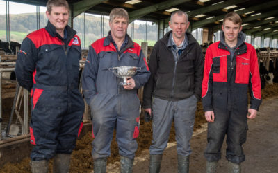 Silage competition winners in South West Scotland